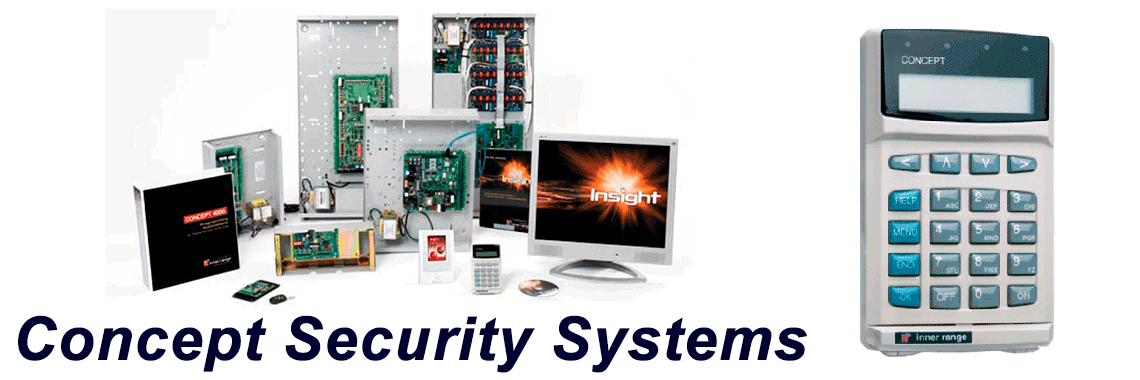 Concept Business Security Systems Install repair service