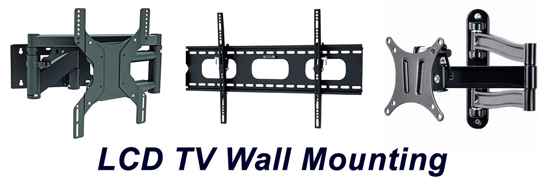 LCD Screen Wall Mount systems installation supply repair service