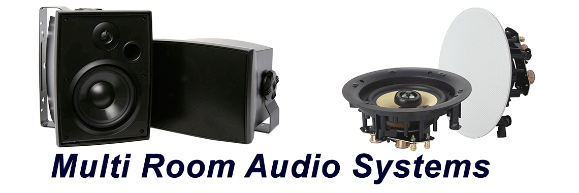 Multi-Room Audio systems installation supply repair service