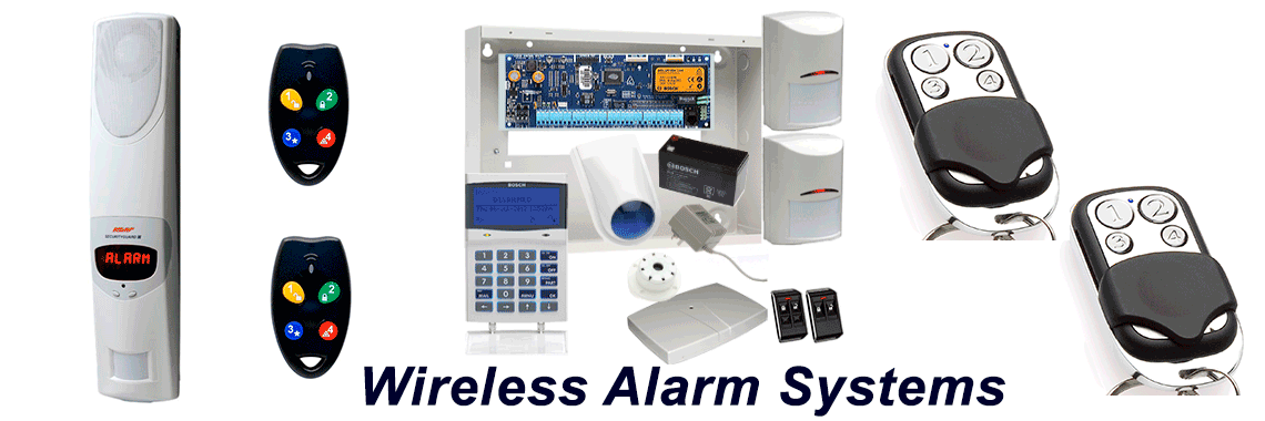 Wireless Alarm Systems installation, supply repair service
