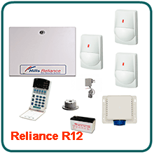 Hills Reliance R12 Home Alarm Systems