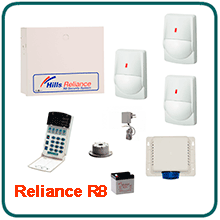 Hills R8 Business Alarm System Kit