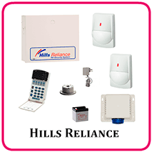 Hills R4 Business Alarm System Packaged Kit