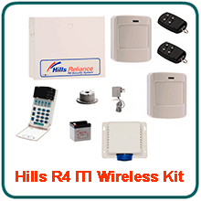Hills wireless R4 Business Alarm Systems