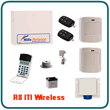 Hills R8 Wireless Alarm System Kit