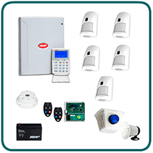 NESS D16X Wireless Alarm Systems for large home