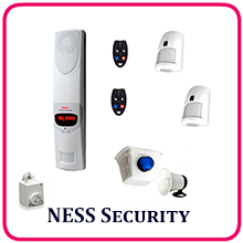 NESS Security Guard 3 Alarm System packaged deal