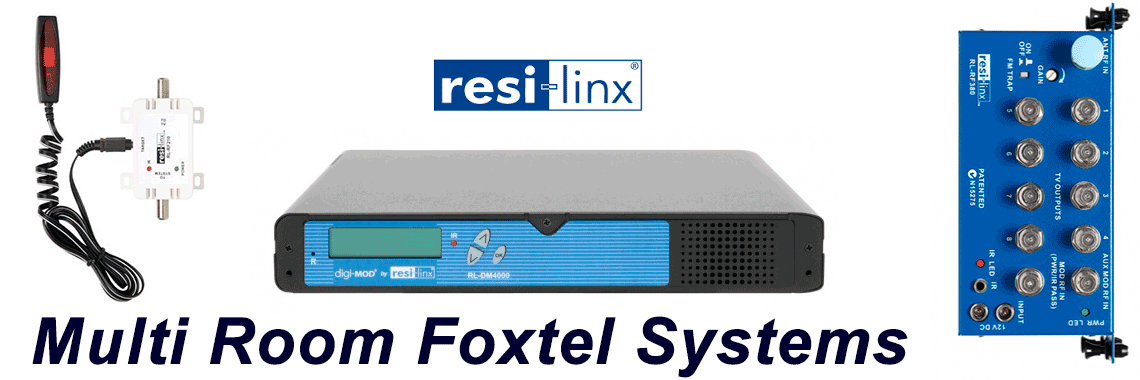 Multi Room Foxtel Installation systems