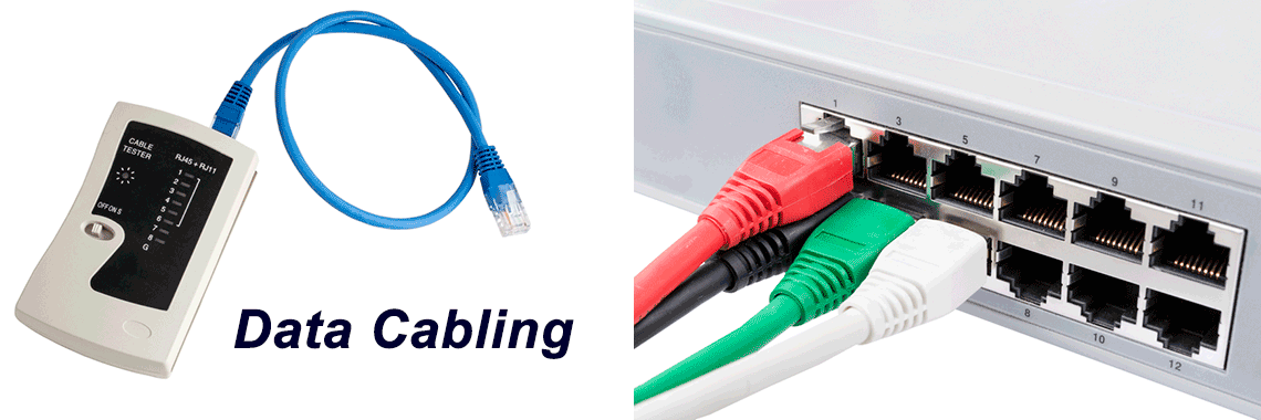 Data cable installation and repair service