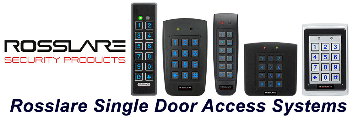 Rosslare single door access control installation
