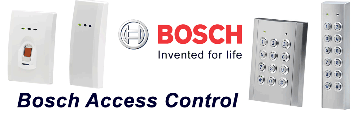 Bosch Access control installation and repair service