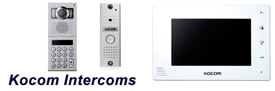 Kocom Intercom Systems Installation Supply repair service