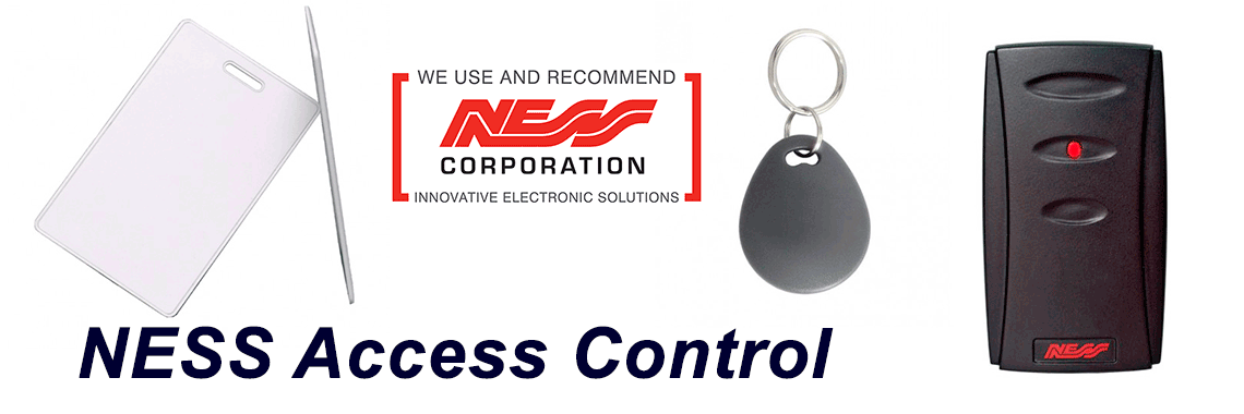 NESS Access Control Systems Installation supply repair service