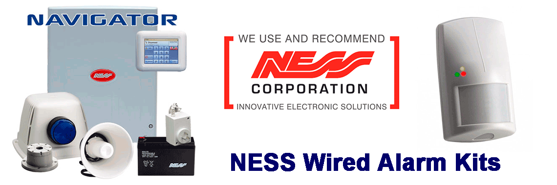 NESS Home Security systems suppliers install repair services