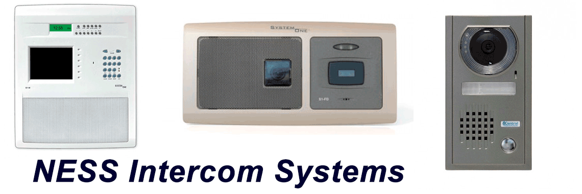NESS Intercom Systems Installation Supply repair service